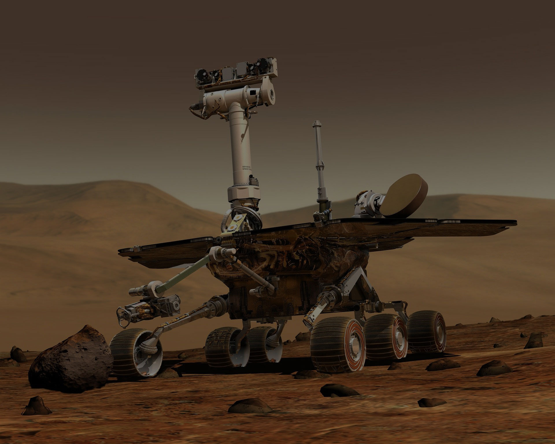 A Stowaway Helicopter on NASA's Mars Rover